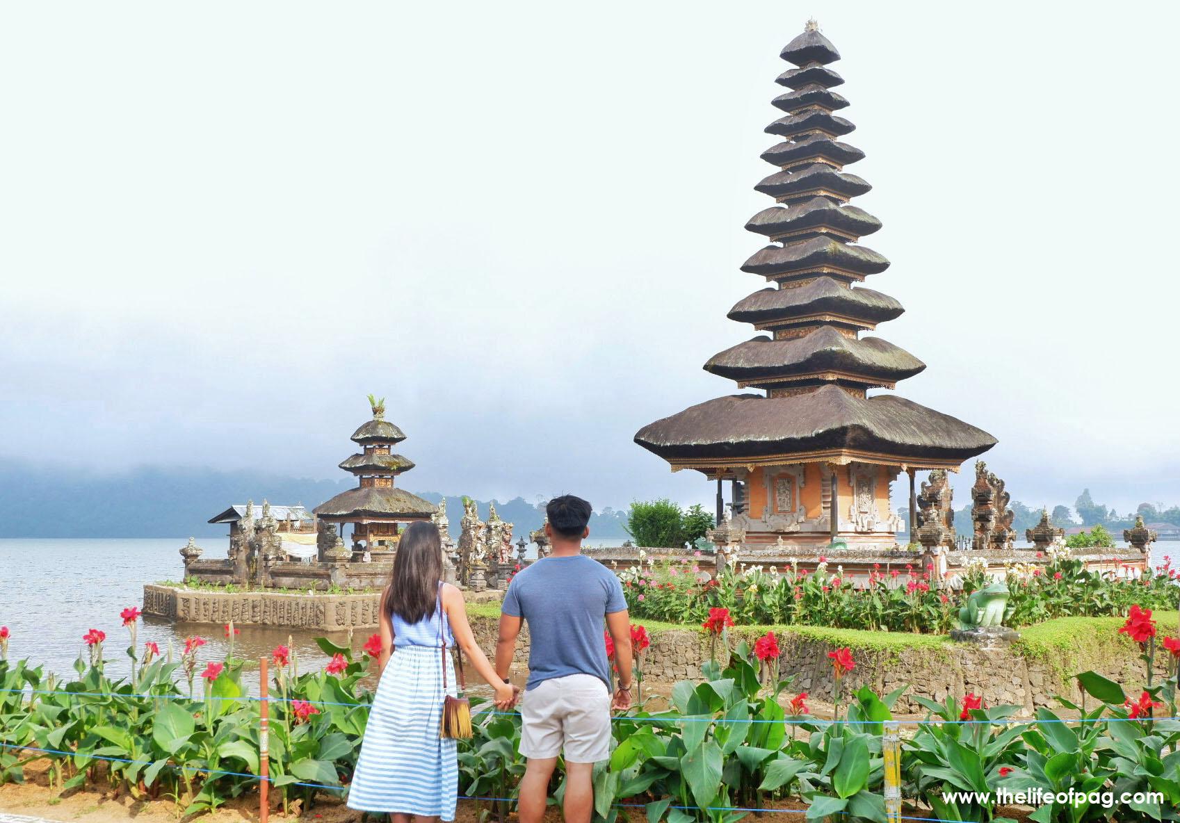 Pura Ulun Danu Beratan The Floating Temple The Life Of Pag